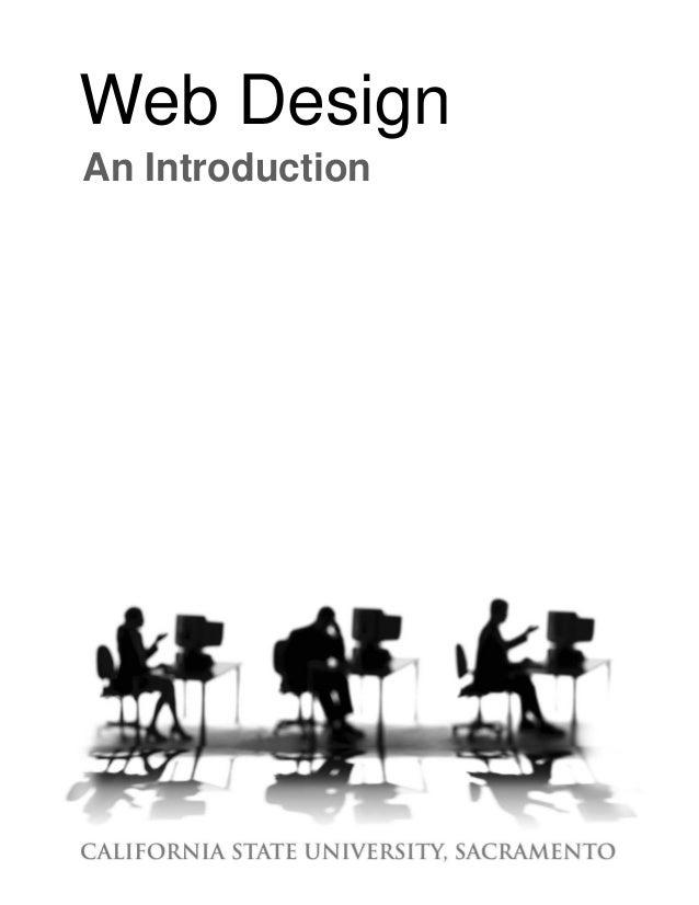 Web Design An Introduction