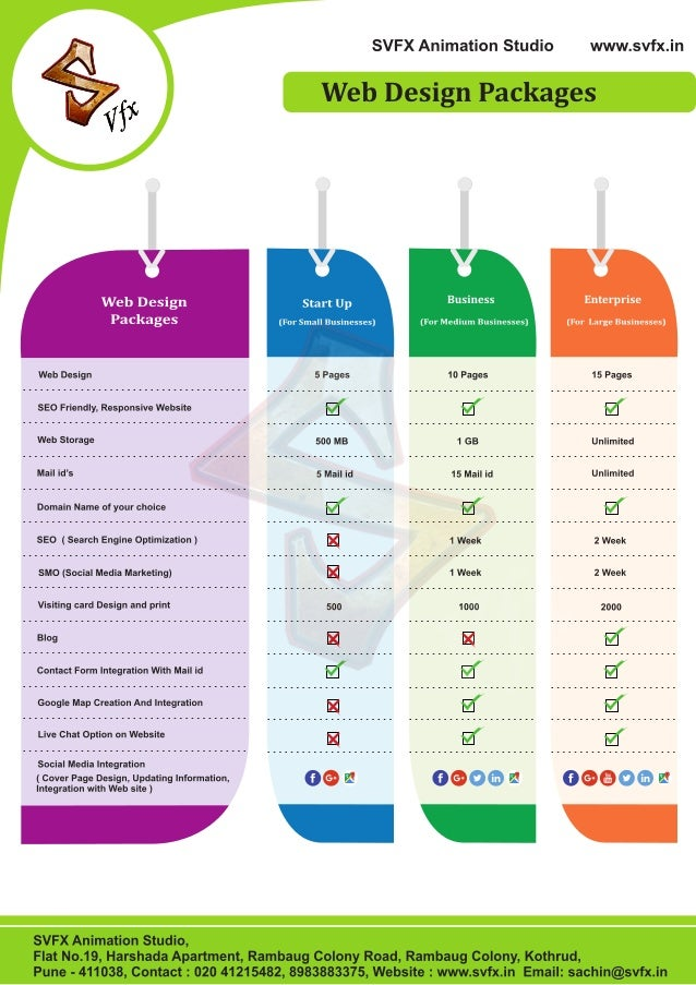 Logo Design Pricing Packages
