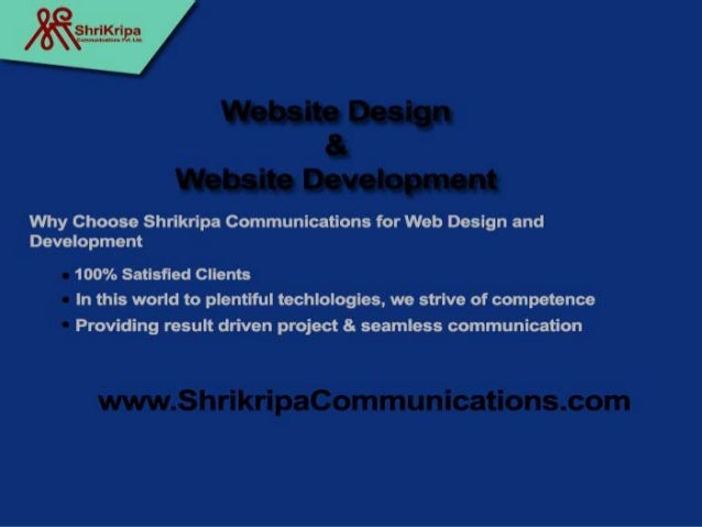  Shrikripa Communications is all the time using up-to-date technologies to build up highly pleasant website and software'...