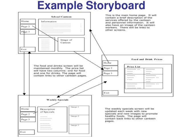 storyboard web