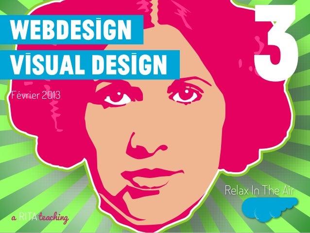 Webdesignvisual designFévrier 2013a RITAteachingRelax In The Air3