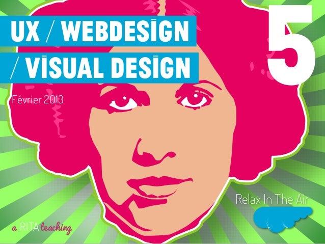 Février 2013a RITAteachingRelax In The Air5UX / Webdesign/ visual design