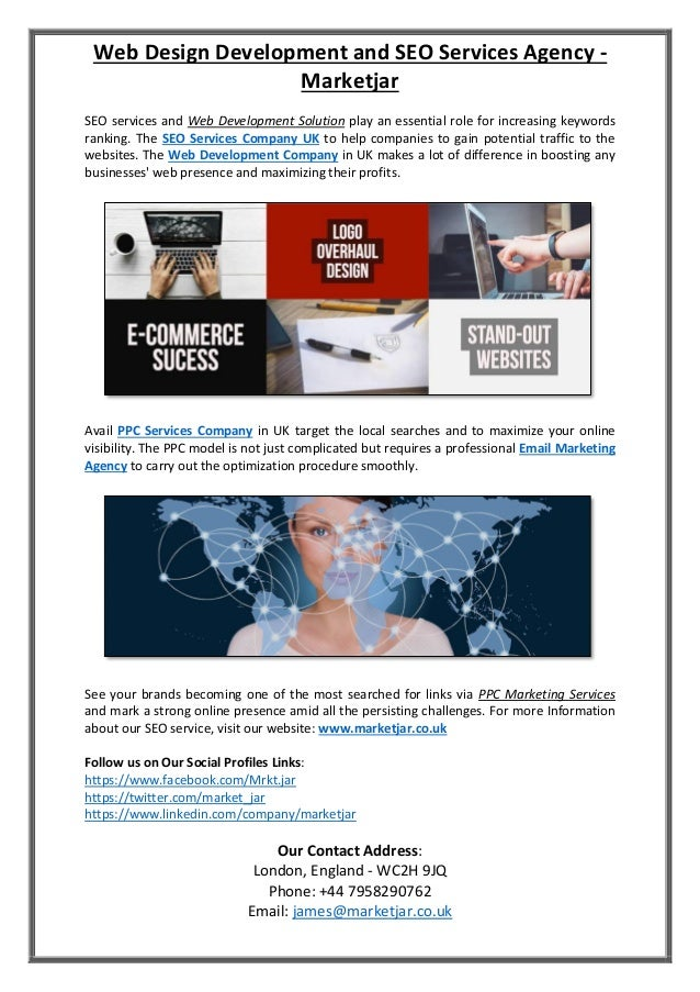 Web Design Development And Seo Services Agency Marketjar
