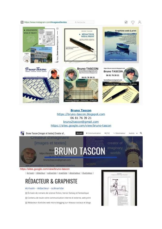 Bruno Tascon https://bruno-tascon.blogspot.com 06 81 76 39 21 bruno2tascon@gmail.com https://sites.google.com/view/bruno-t...