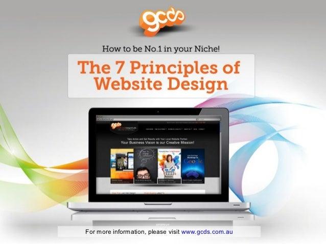 For more information, please visit www.gcds.com.au