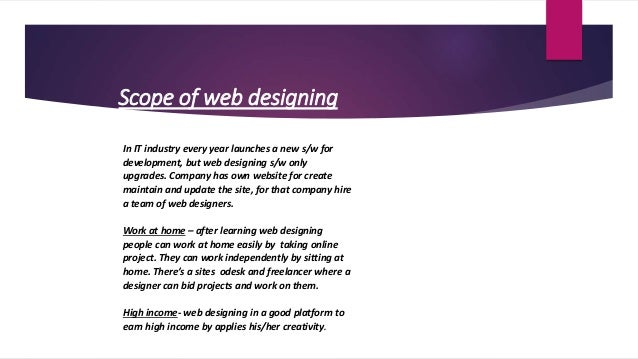 Web Designing Course in Panchkula