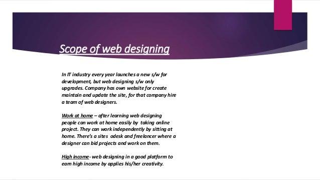... 10. Scope Of Web Designing ...