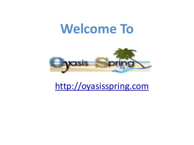 Welcome To http://oyasisspring.com