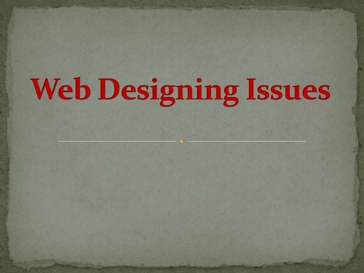  Introduction What is Web Designing? Technologies used for Web Designing Architecture of your Website Different Types...