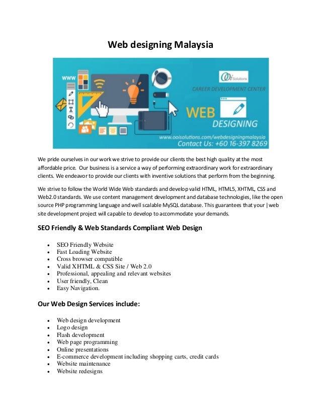 Web Design company in Malaysia   Ecommerce Site Development pdf