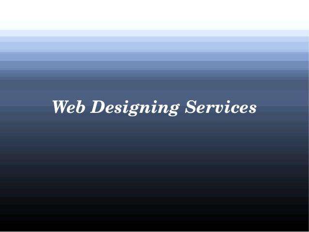 WebDesigningServices