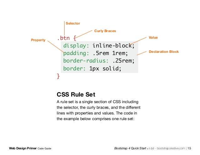 Web Design Primer Sample Html Css Js