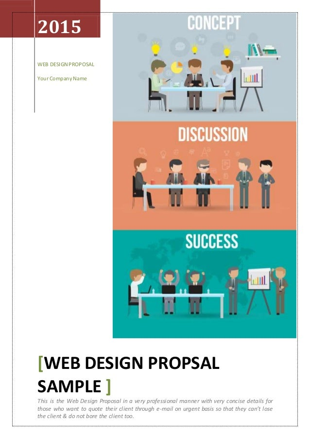 Web Design Proposal Quick Response to Client