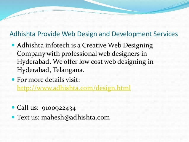 Web Design Ecommerce Mobile Apps And Seo Services In Hyderabad