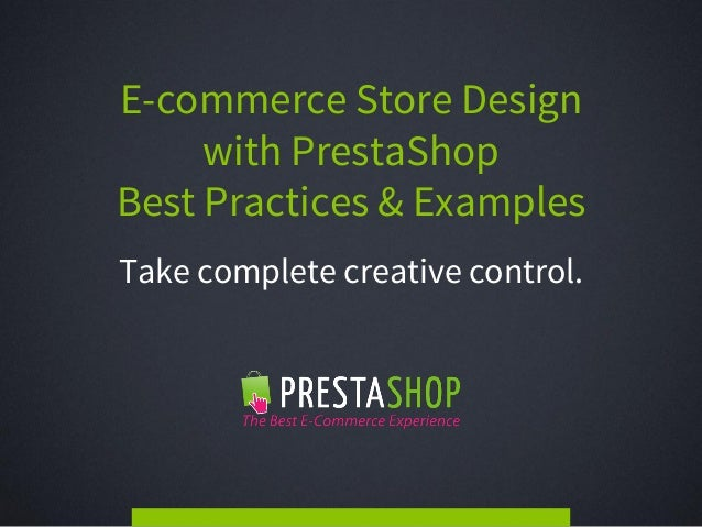 e commerce store design with prestashop best practices examples. Black Bedroom Furniture Sets. Home Design Ideas