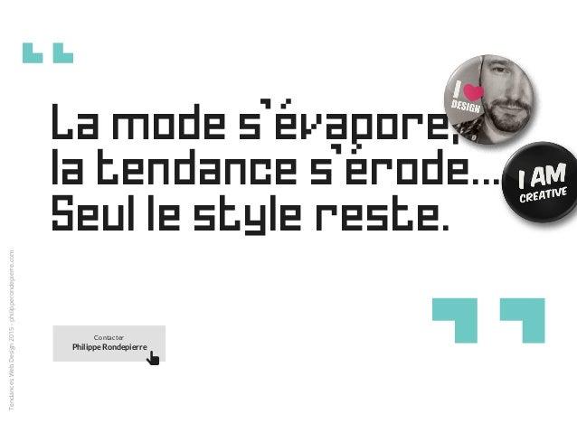 Tendances Web Design 2015 Slide 2