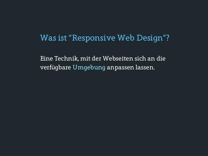 """CSS3 Media Queries: BasicsMit Media Queries kann man u.a. Breite,Höhe und Orieniterung des Geräts """"abfragen""""."""
