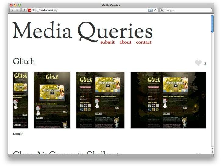 Media Query ist nicht gut genugDa Media Queries CSS sind, werden alleSeiteninhalte immer heruntergeladen, auchwenn sie nic...