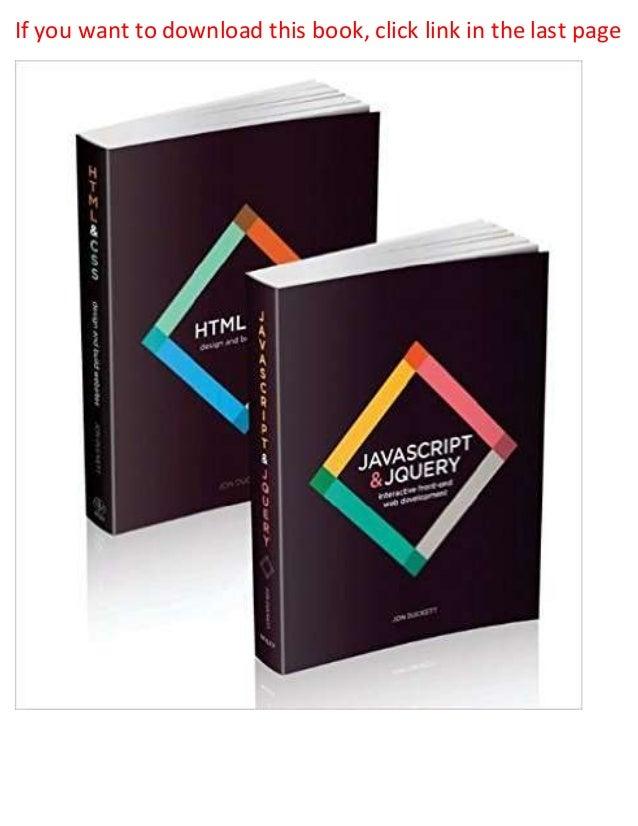 Free download pdf css: the missing manual epub.