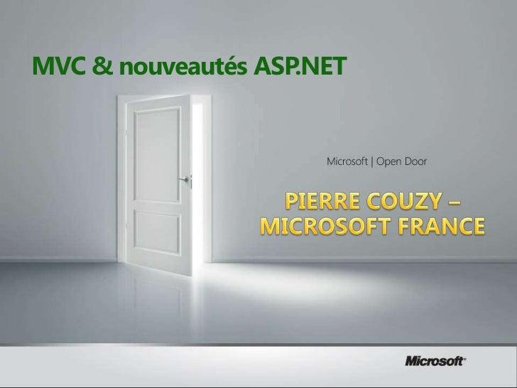 MVC & nouveautés ASP.NET