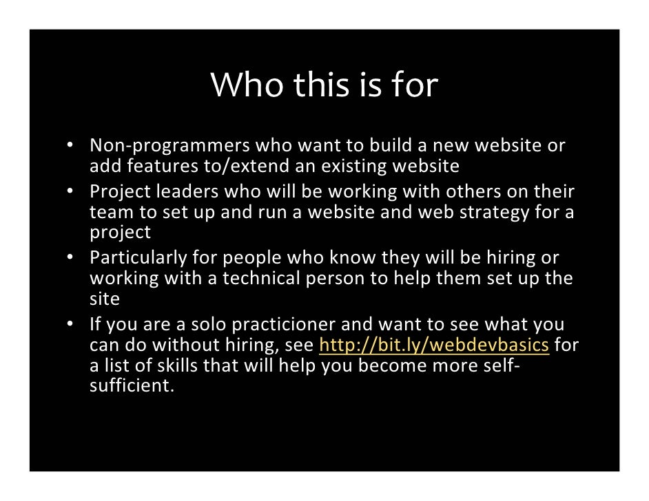 Web Dev101 For Journalists Slide 3