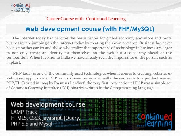 Web application development course / Small single memory