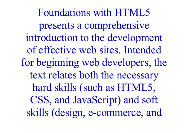 Epub Web Development And Design Foundations With Html5 8th Edition