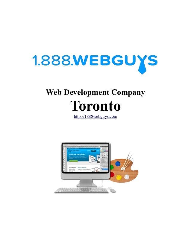 Web Development Company Torontohttp://1888webguys.com