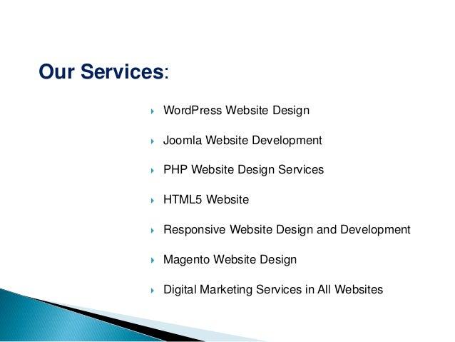 web development company ppt