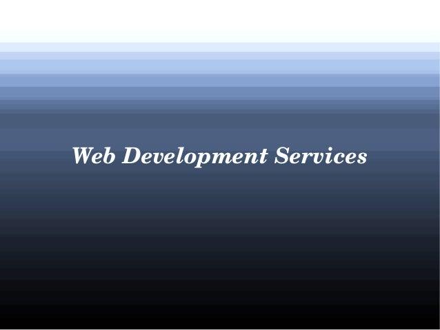 WebDevelopmentServices