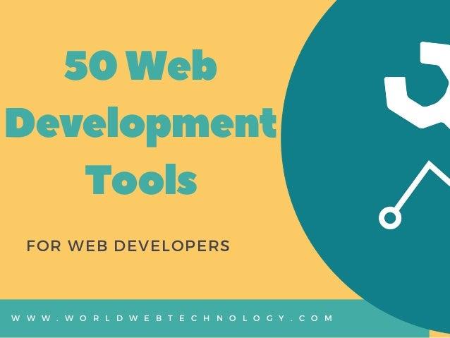 Best Web Development Tools List For Web Developers
