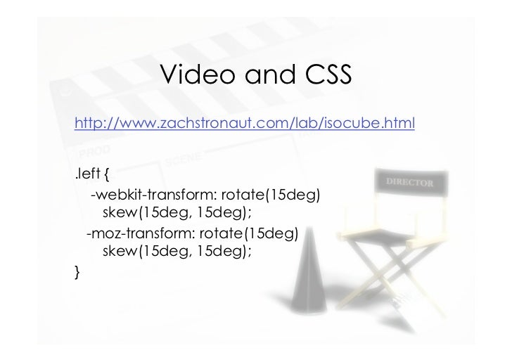 Taking html5 video a step further video ccuart Choice Image