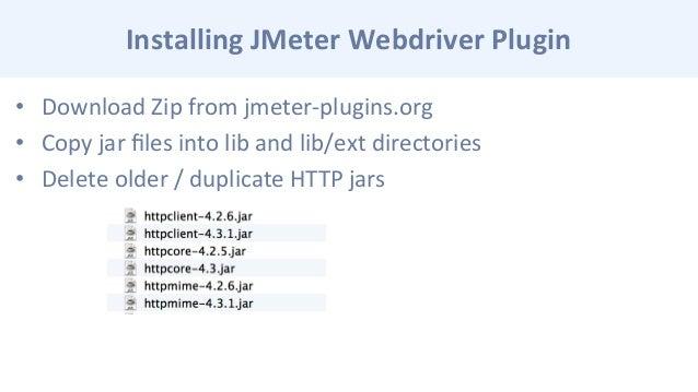 Ammco bus : Jmeter webdriver plugin