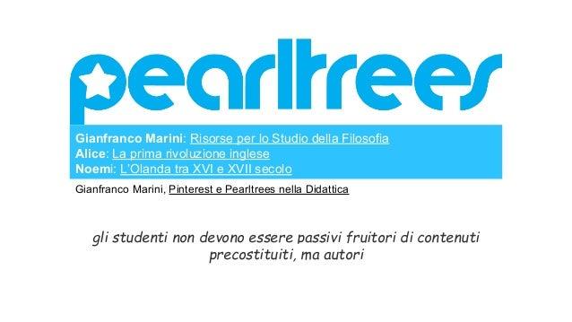 Gianfranco Marini: Bacheche # Festival Filosofia 2014 # Letteratura # ePortfolio # Applicazioni Educative Bacheche Student...