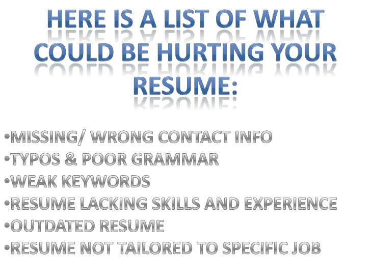 to Write an Effective Resume   YouTube Effective Resume Writing