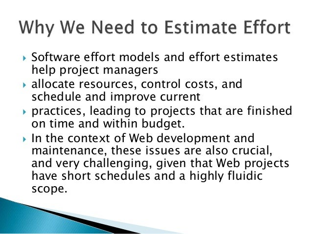 project estimation techniques in software engineering Computing techniques in the existing models and to provide in depth review of software and project estimation techniques existing in  software engineering.