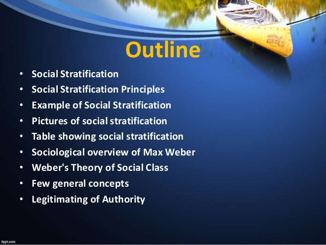 write an essay social stratification Social stratification refers to a system by which a society ranks categories of people in a hierarchy let's examine some of the theories.