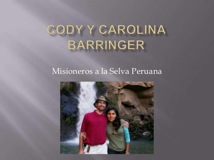 Misioneros a la Selva Peruana