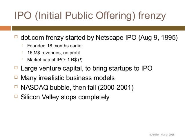 Netscape's Initial Public Offering