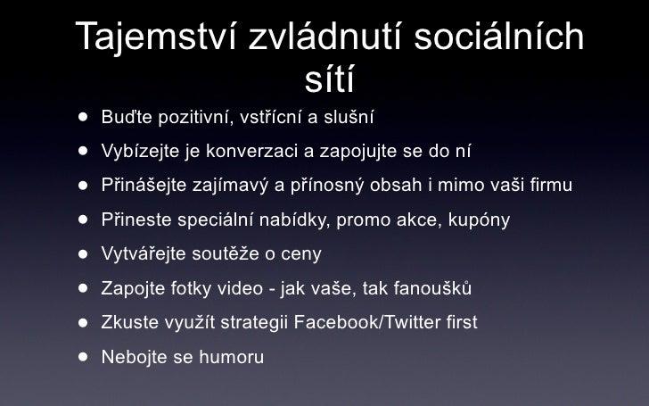zapojte sociální síť