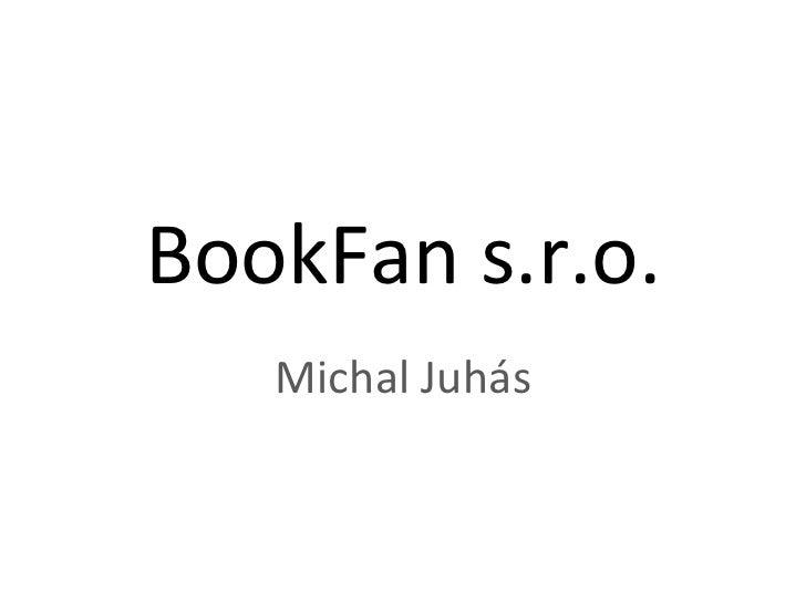 BookFan s.r.o. Michal Juhás