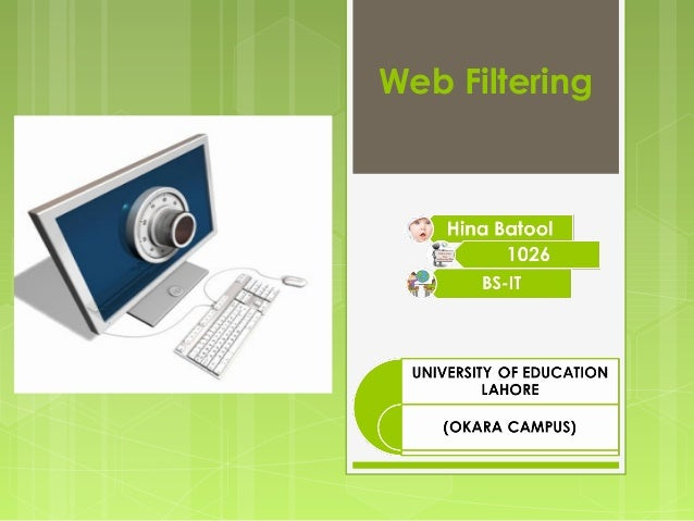 Web Filtering