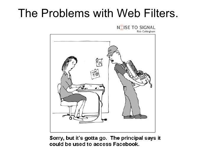 The Problems with Web Filters. <ul><li> </li></ul>