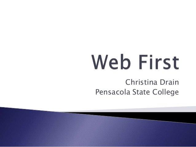 Christina Drain Pensacola State College