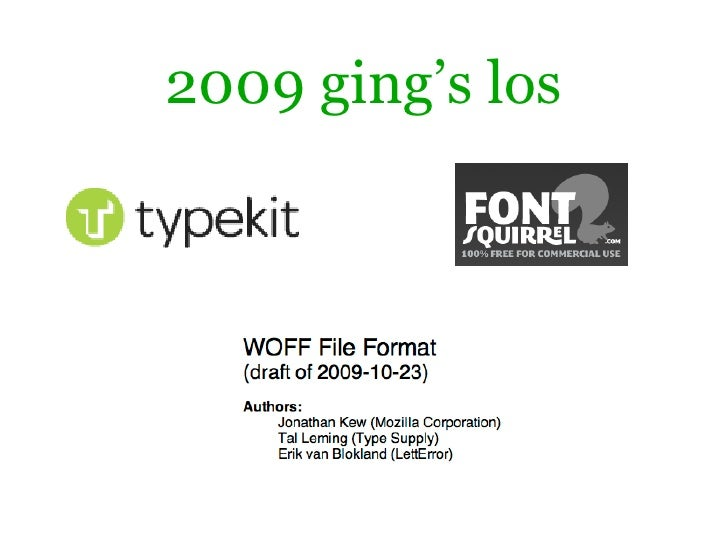 2009 ging's los