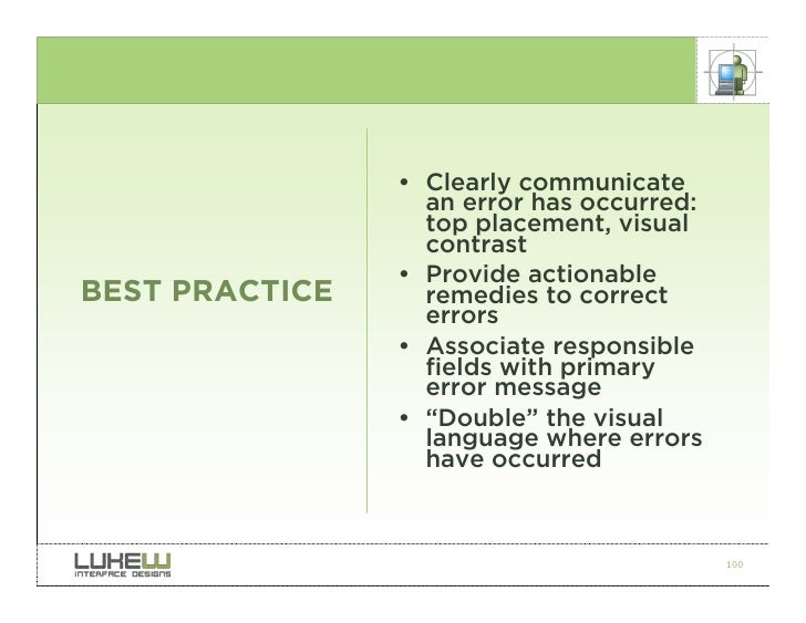 Still Web Design Best Practice To Use Page Name