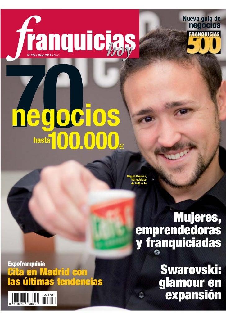 Nueva guía de                                                            negocios       Nº 172 / Mayo 2011 • 3 €70 negocio...