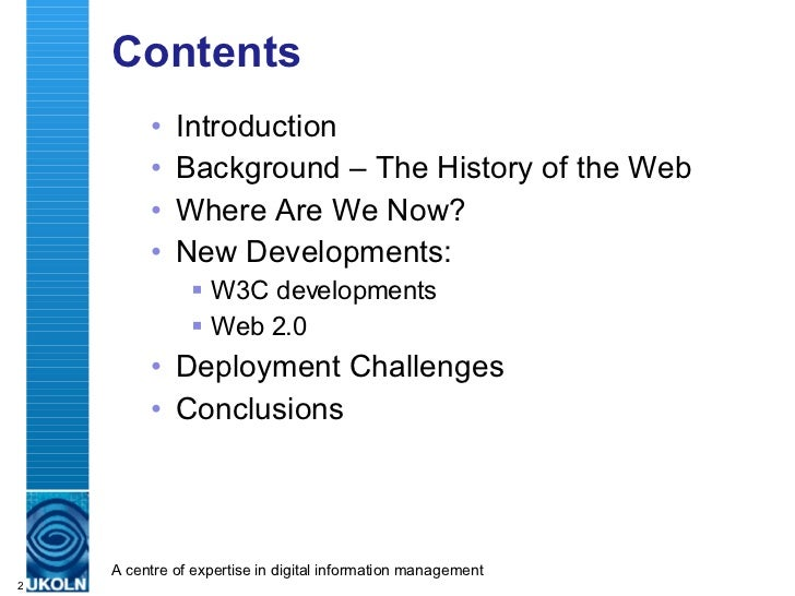 Web Futures: Implications For HE Slide 2