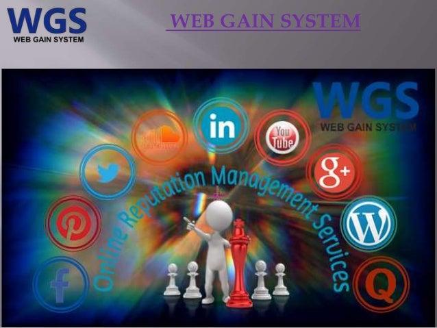 WEB GAIN SYSTEM