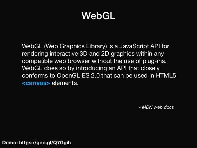 Making Games in WebGL - Aro Wierzbowski & Tomasz Szepczyński